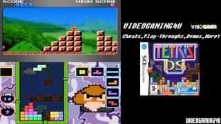 Tetris DS (NIntendo DS) - Game Play