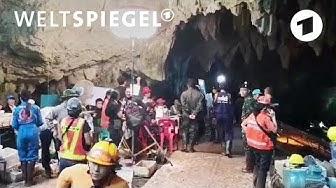 Das Höhlendrama in Thailand   Weltspiegel