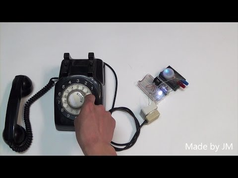 Rotary Dial Phone pulse test