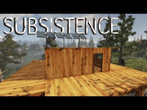 Subsistence - Upgrading the Solar Panels, Hunting Wolves for Fat + Meat - Gameplay Highlights Ep 15