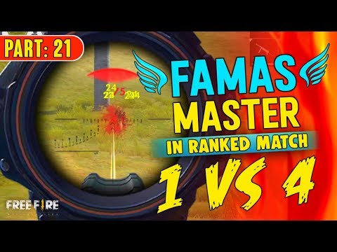 Famas Master Is Back Solo Vs Squad - Garena Free Fire- Total Gaming
