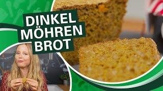 YUMMY! Dinkel Möhren Brot selber backen - super einfach