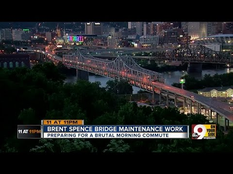 Tri-State commuters brace for Brent Spence Bridge lane closures