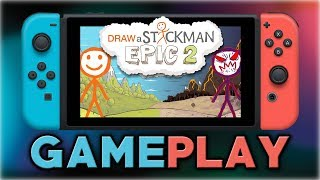 Draw a Stickman: EPIC 2 | First 20 Minutes | Nintendo Switch