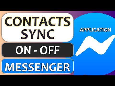 Phone Contacts Sync On Messenger - How To Turn ON/OFF