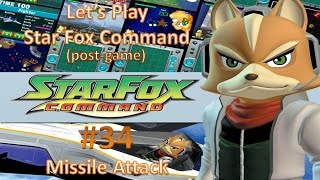 Let's Play Star Fox Command Part 34: Missile Attack (Asteroid Belt)