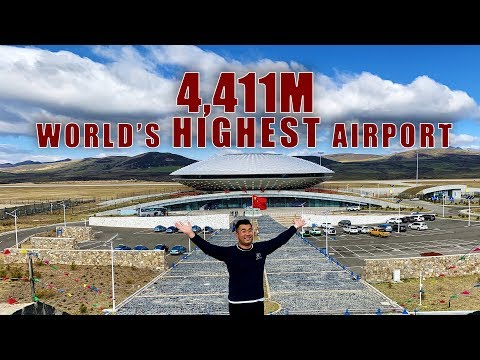 Fly to the World's HIGHEST Airport - Daocheng Yading thumbnail