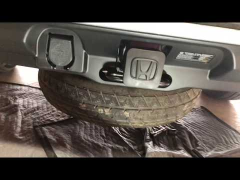 2019 Honda Pilot OEM trailer hitch install.
