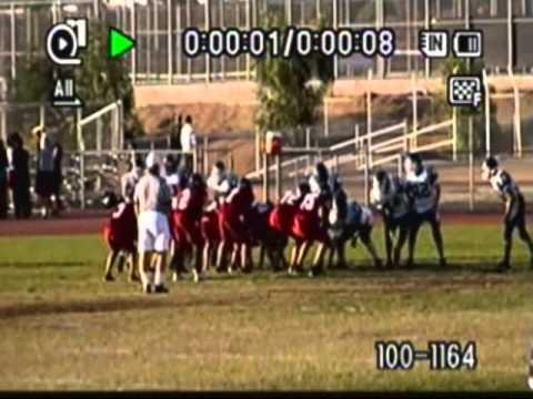 JD Hernandez - Patriot High School Freshman Football 2010 - YouTube