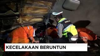 Kecelakaan Maut Beruntun 10 Kendaraan Di Tol Cipularang, 3 Tewas & 28 Luka-luka