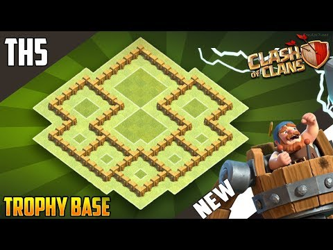 Best BASE  TH5 HYBRID/TROPHY[defense] Base 2018!!  Town Hall 5 Hybrid Base Design - Clash of Clans