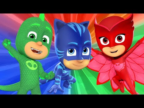 PJ Masks Episodes | PJ Masks HERE WE COME Album Songs | Sing with #pjmasks | Cartoons for Children