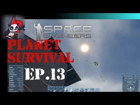 Space Engineers | Planet Survival - Ep 13 | Orbiter Upgrades
