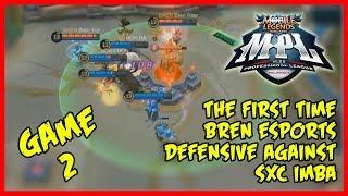 Impressive SXC Imba vs Bren Esports | MPL-PH Game2
