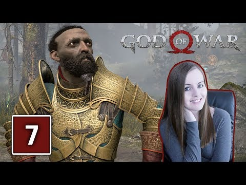 BROK'S BROTHER SINDRI | God Of War PS4 Gameplay Walkthrough Part 7 (God Of War 4)