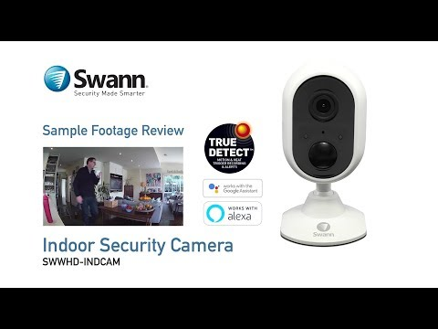 Swann Indoor Security Camera sample CCTV footage review