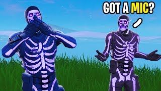 I'm NOT ALLOWED to Talk to my Random Duos Partner on Fortnite!