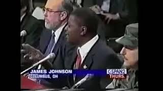 SENATE HEARING: American Militia Leader James Johnson Speaks to Senate in 1995