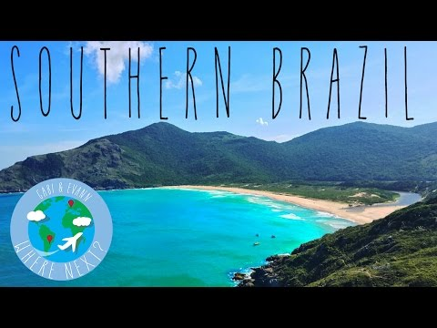 Southern Brazil - Backpacking from Curitiba to the beaches of Florianopolis