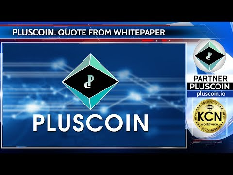 Quote from PlusCoin Whitepaper