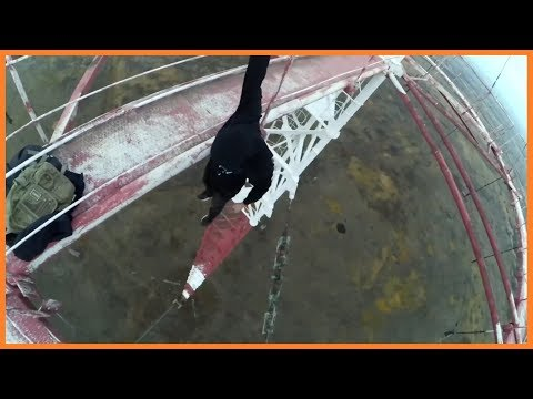 Красне - Руф - Телемачта 265м. Oбьект №811 | Roof Lviv - Climbing on radio tower 265m
