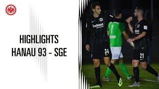 Highlights   FC Hanau 93 - Eintracht