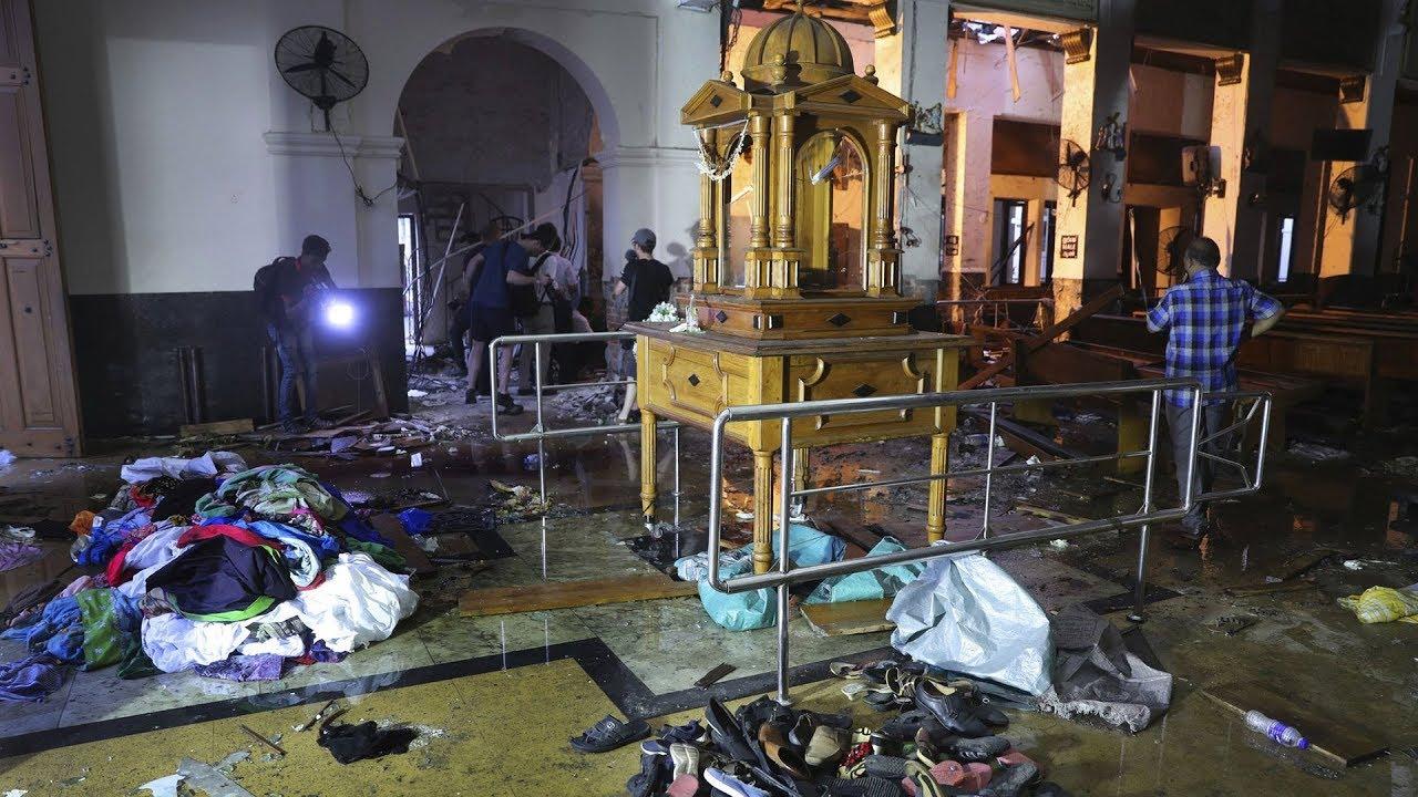 Giáo Hội Năm Châu 29/04/2019: Vành khăn tang với Giáo Hội tại Sri Lanka