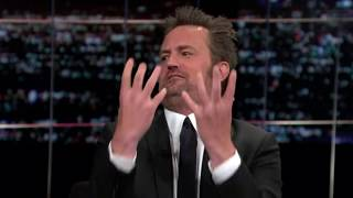 Matthew Perry Talks about his Drunken Days, his Politics