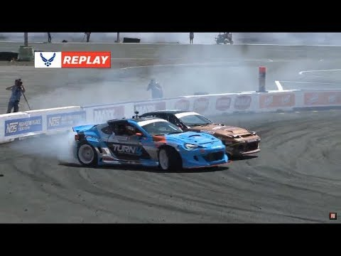 Formula DRIFT Monroe Top 32 Livestream Replay 2018