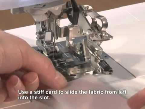 Brother Domestic Sewing Machine Ruffler Foot Tutorial YouTube Custom Ruffler For Brother Sewing Machine