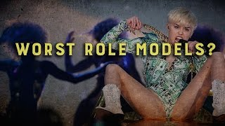 Miley Cyrus Crowned Worst Role Model For Kids