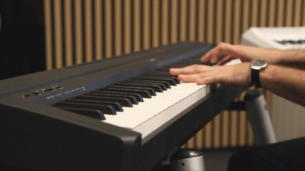 yamaha p45 demo y an lisis piano digital por youtube. Black Bedroom Furniture Sets. Home Design Ideas