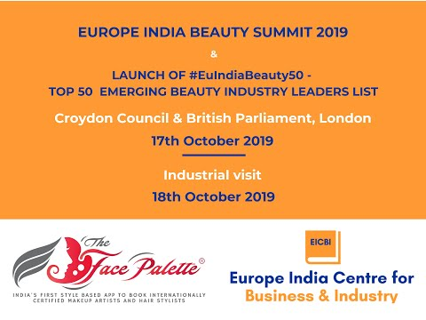 Beauty Industry leaders from India, EU and UK to meet in London to explore potential areas for colla
