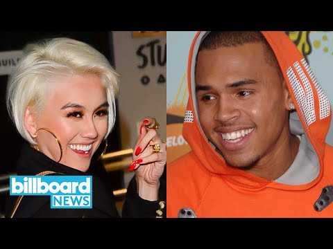 Chris Brown & Agnez Mo Drop New Track 'Overdose' | Billboard News