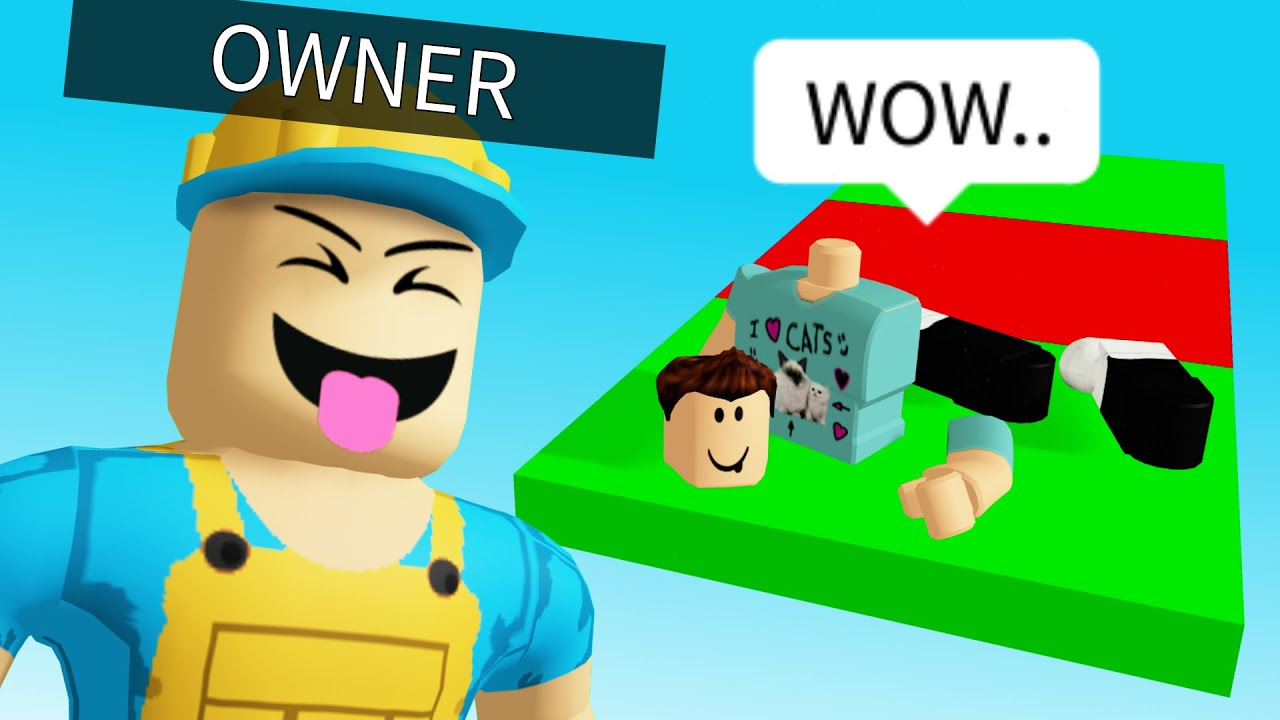 The Owner Trolled Me In His Own Roblox Obby Youtube