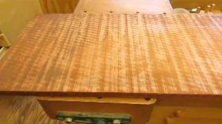 Townsend Card Table   Glue Up And Table Top Plane Step 25