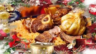 Нежнейший плов из баранины с чесночком. #новогодние рецепты