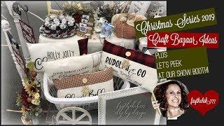 Christmas Series 2019 | Christmas Craft Bazaar Ideas | Christmas Craft Bazaar Booth Setup