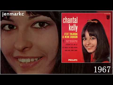 CHANTAL KELLY C'est toujours la même chanson 1967 (yéyé girl)