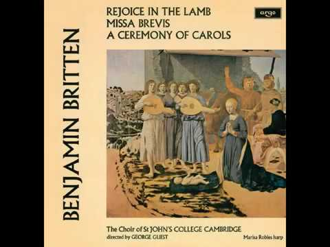 Rejoice in the Lamb - Britten