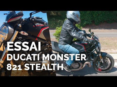 Essai Ducati Monster 821 Stealth (2019) (A2)
