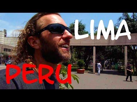 A Walking Tour of LIMA, PERU: the Fancy Miraflores District