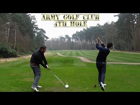 Army golf club, 4th Hole