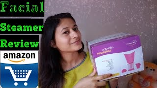 facial steamer review#unboxing#amazonproduct#honestreviews