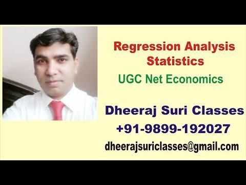 Regression Analysis Introduction | Statistics | UGC Net Economics