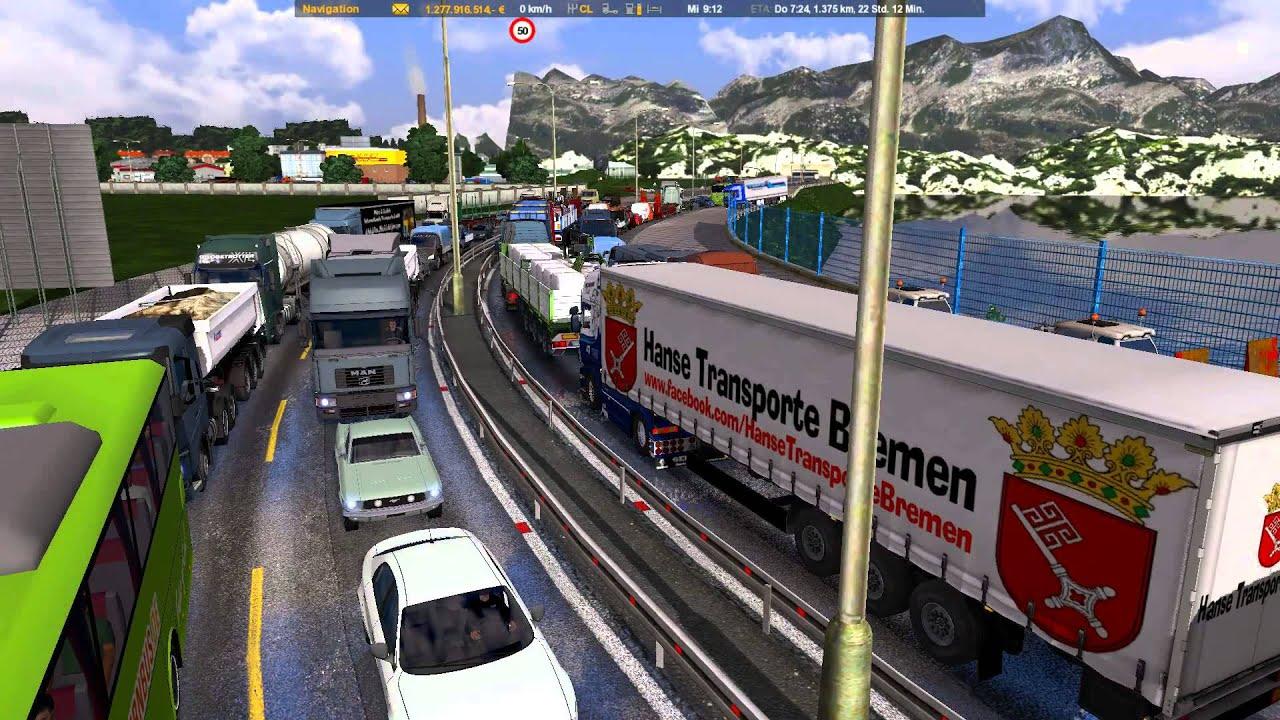 ETS2] Traffic Jam Mod v3 2 *BETA by Mr GermanTruck