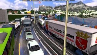 Euro Truck Simulator 2 [021Stau Stau Staaaaaau【ツ】!!!! mit horsti & basti am funk