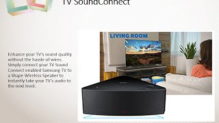 Samsung WAM550 Review : Samsung Shape M5 Wireless Speaker Multi-Room - Black