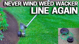 Never Wind Weed Wacker Line Again - String Trimmer Line Loading Miracle