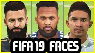 35 NEW FACES ADDED TO FIFA 19 That I Haven't Shown Before